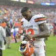 The Cleveland Browns trade Josh Gordon to the New England Patriots