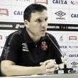 """Zé Ricardo lamenta gol irregular em derrota do Vasco: """"Percebi na hora"""""""