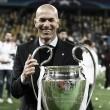 """Tricampeão da Champions League pelo Real, Zidane celebra feito: """"Estamos fazendo história"""""""