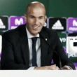 """Zidane: """"Arrancamos un ciclo nuevo con cuatro títulos por delante"""""""
