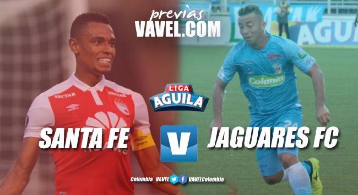 Santa Fe vs Jaguares : Tarea lista en Copa Libertadores ahora el objetivo es levantar en la Liga Águila