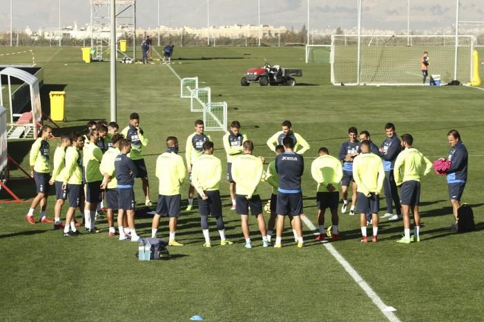Tres entrenamientos para preparar el choque ante el Almería
