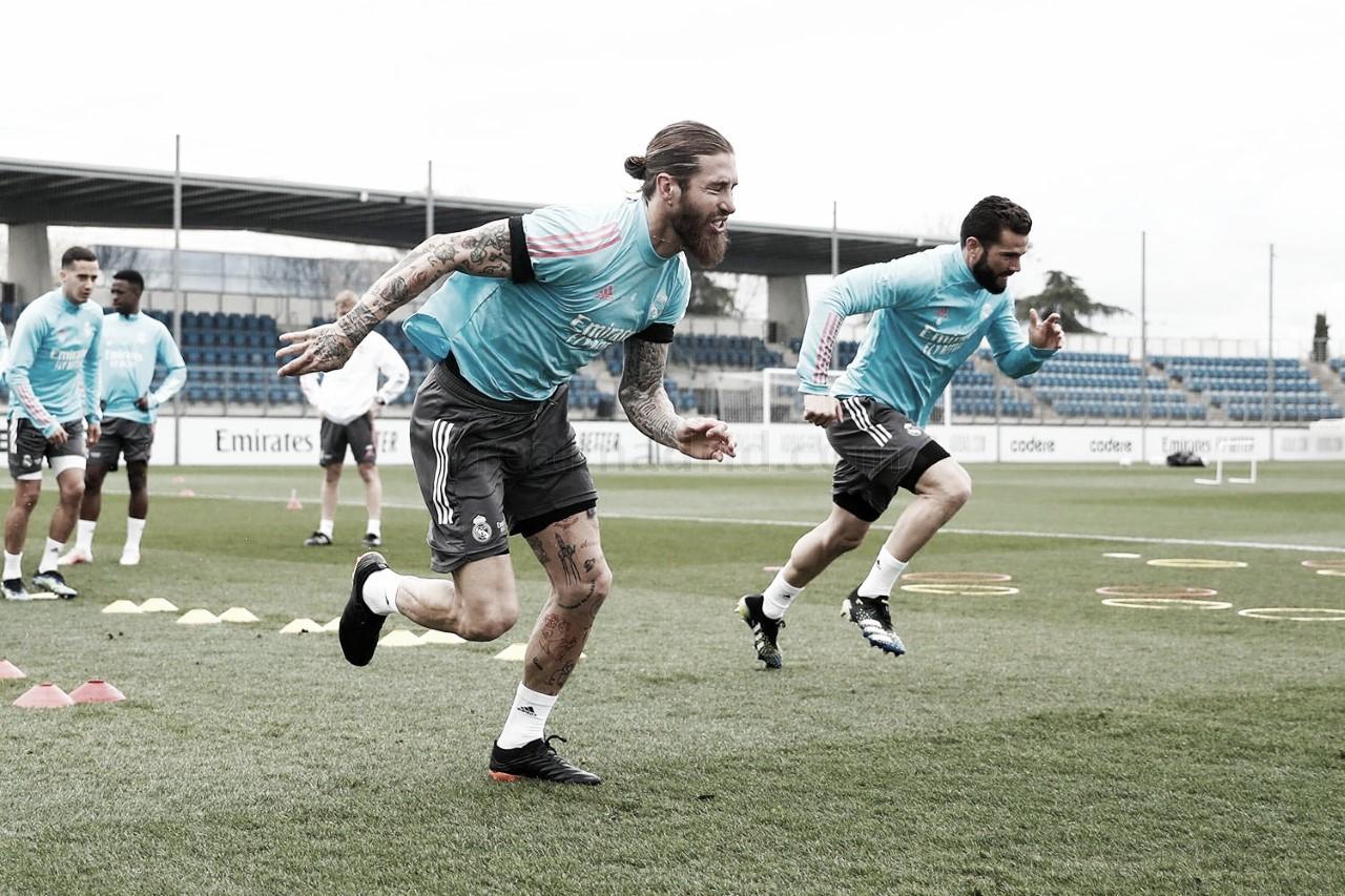 Ramos y Hazard entrenan y apuntan al Elche