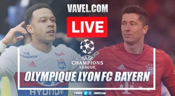 As it happened: Lyon 0-3 Bayern Munich