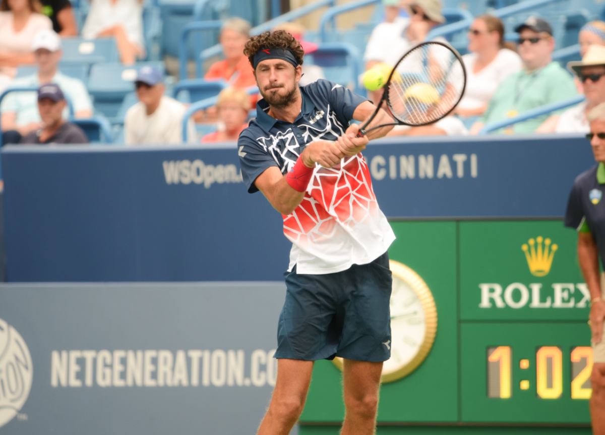 ATP Cincinnati: Robin Haase manoeuvres past Alexander Zverev in second round