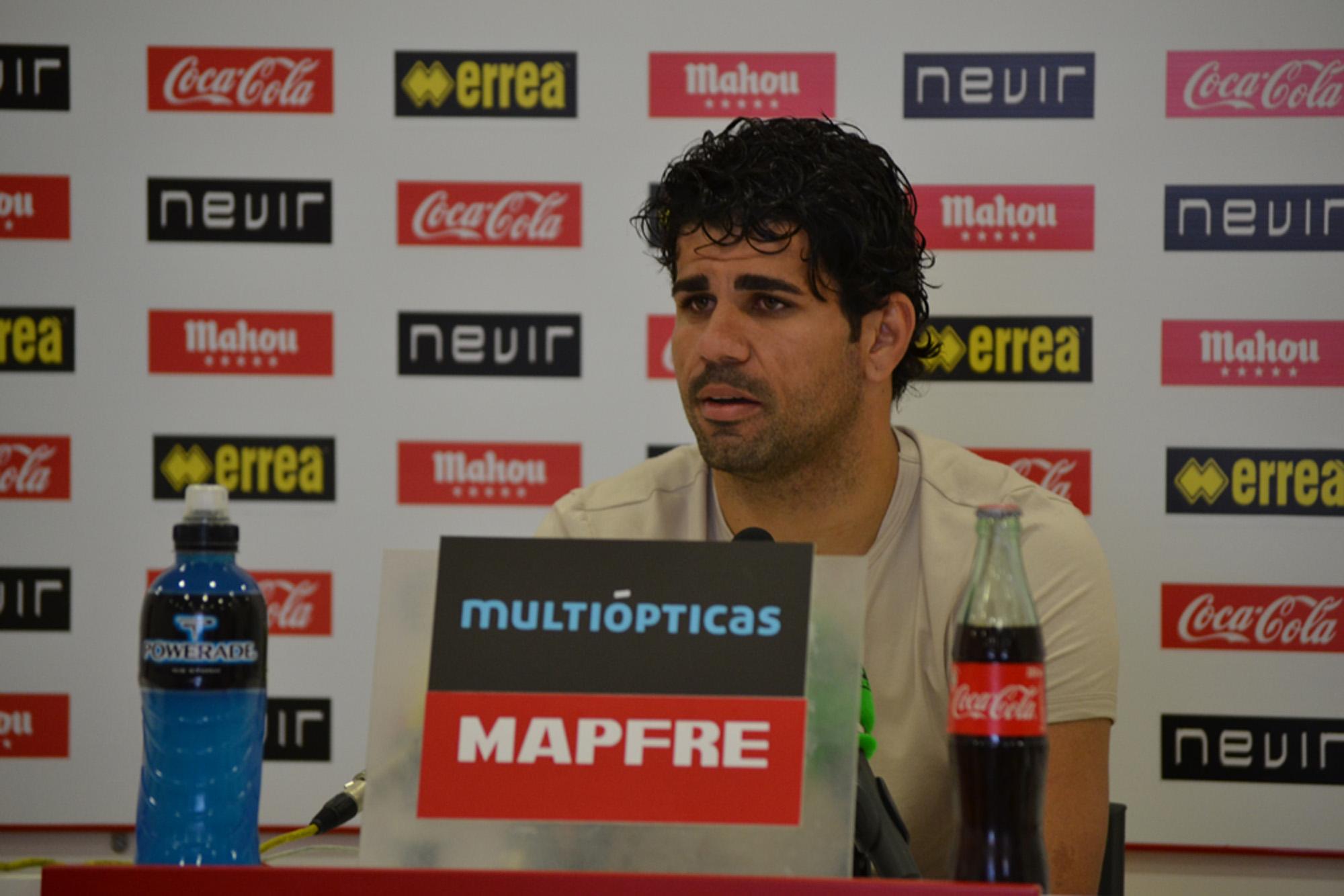 """Diego Costa: """"Contra el Atleti no tengo tanta ilusión de jugar"""""""