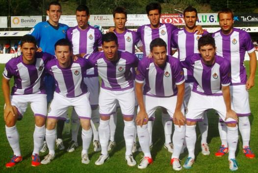 El Real Valladolid gana el Trofeo Centenario del Luarca CF frente al Sporting