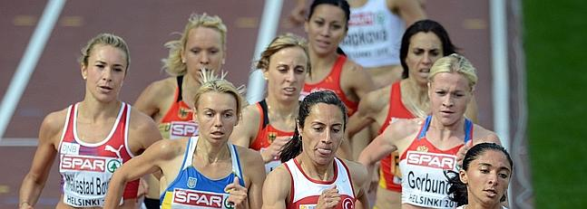 Núria Fernández no consigue revalidar el título europeo de los 1.500