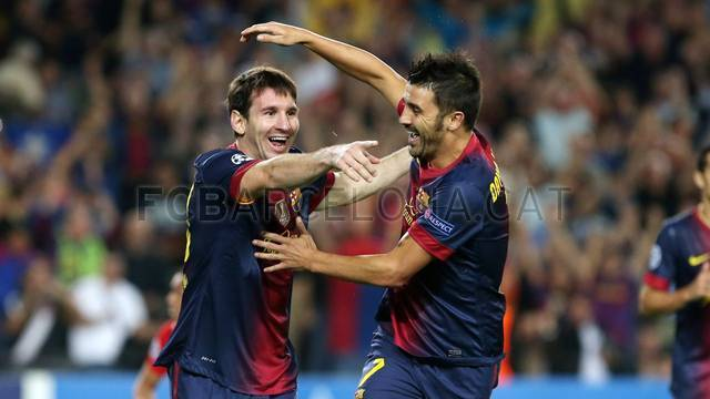 """Messi: """"Lo que queremos es conseguir títulos y estamos en el camino"""""""