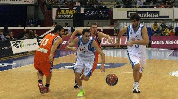 El Lagun Aro insiste y vence al Valencia Basket (86-82)
