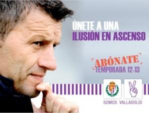 El Real Valladolid presenta su nueva campaña de abonados