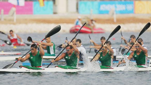 Hungría se clasifica con tiempo récord para la final de kayak por equipos