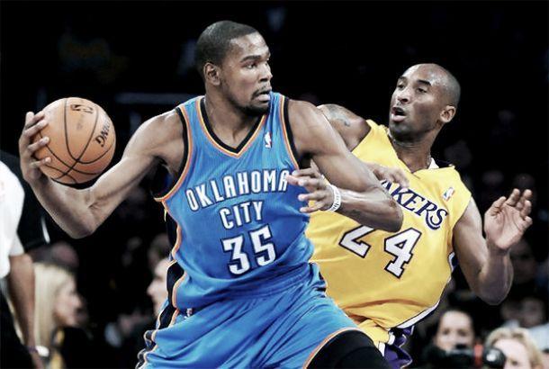 I Thunder strapazzano i Lakers, Love fa sudare gli Spurs