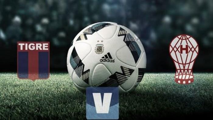 Resumen Tigre vs Huracán por fecha 3 del Torneo de la Independencia 2016 (1-1)