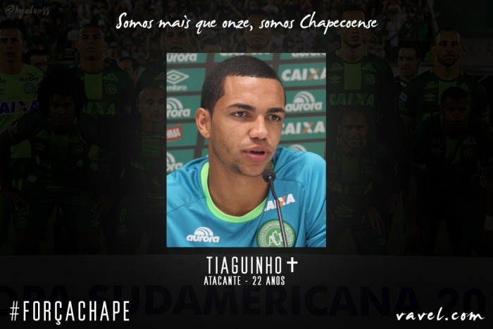 Tiaguinho: atacante da Chapecoense vivia auge profissional e pessoal