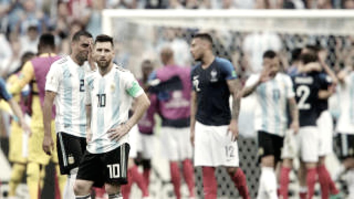 Se terminó el sueño para Argentina
