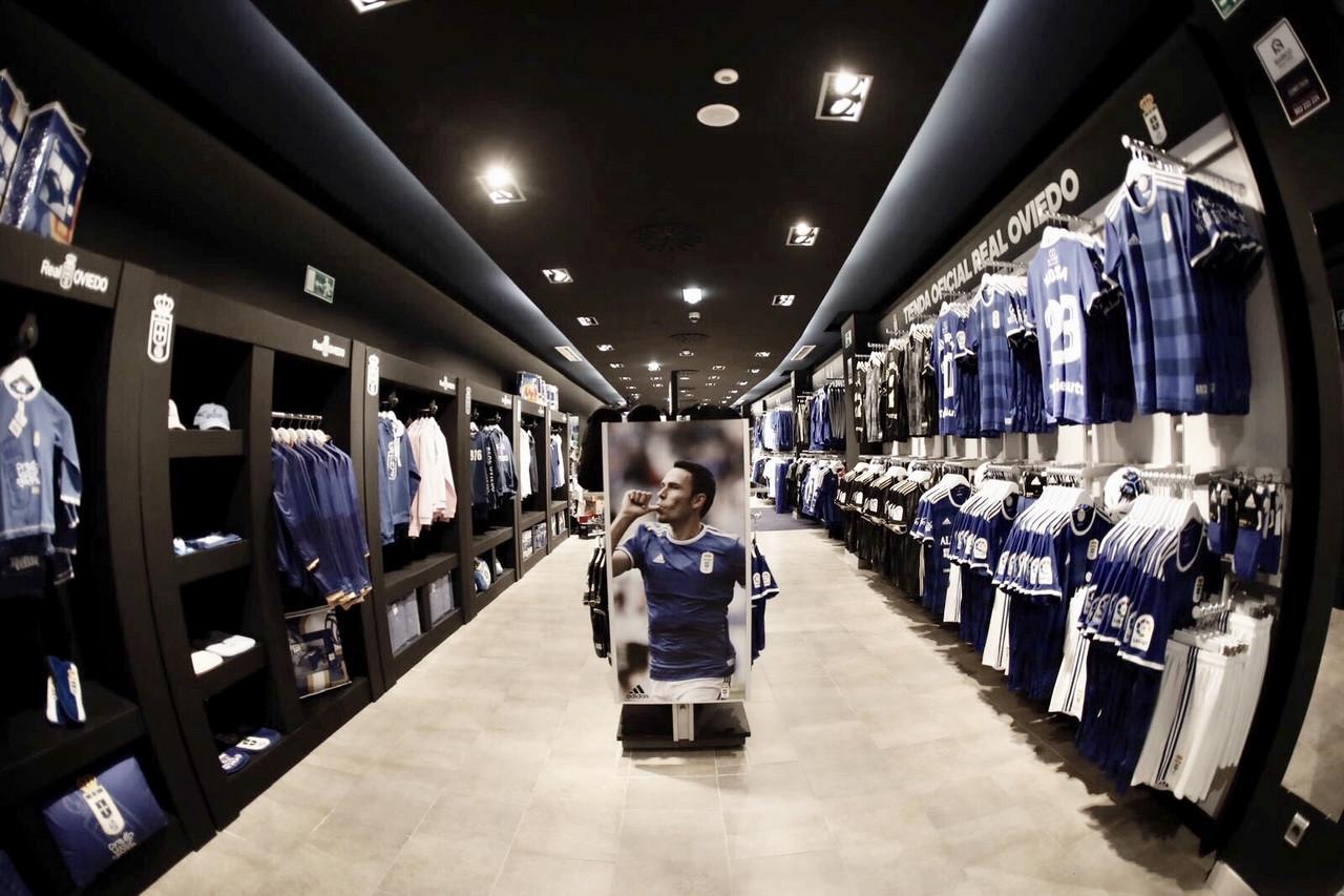 La nueva tienda del Real Oviedo