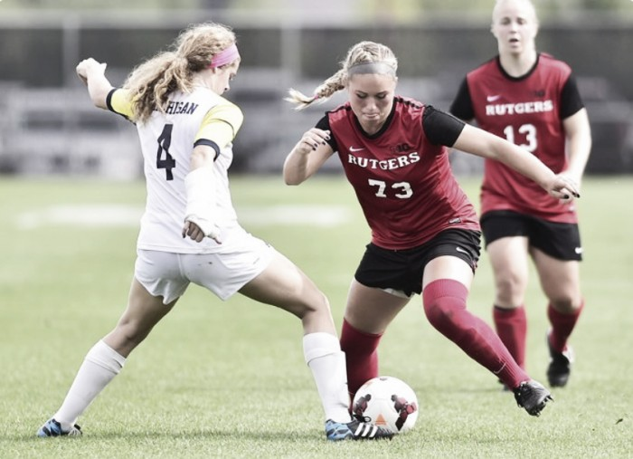 Sky Blue FC's Madison Tiernan joins the Rutgers staff