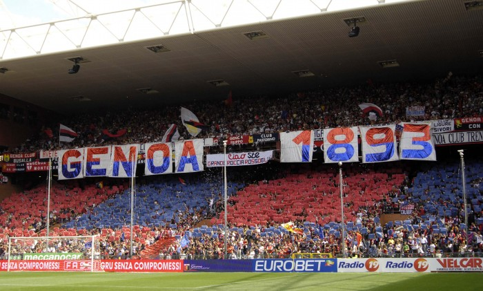 Serie A: continua la contestazione dei tifosi del Genoa