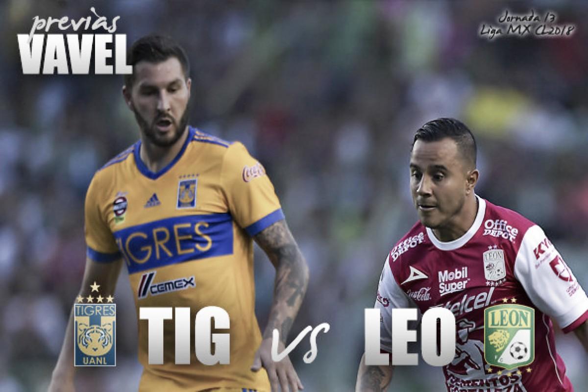 Exquisita volea de Rafael Carioca brilla en goleada de Tigres ante León