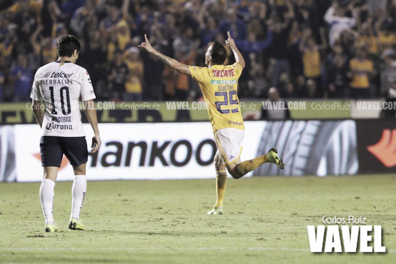 Tigres realiza la voltereta para llegar con ventaja al Olímpico Universitario