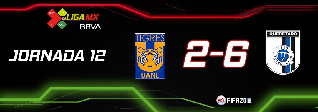 Gallos golean a Tigres en eLiga MX