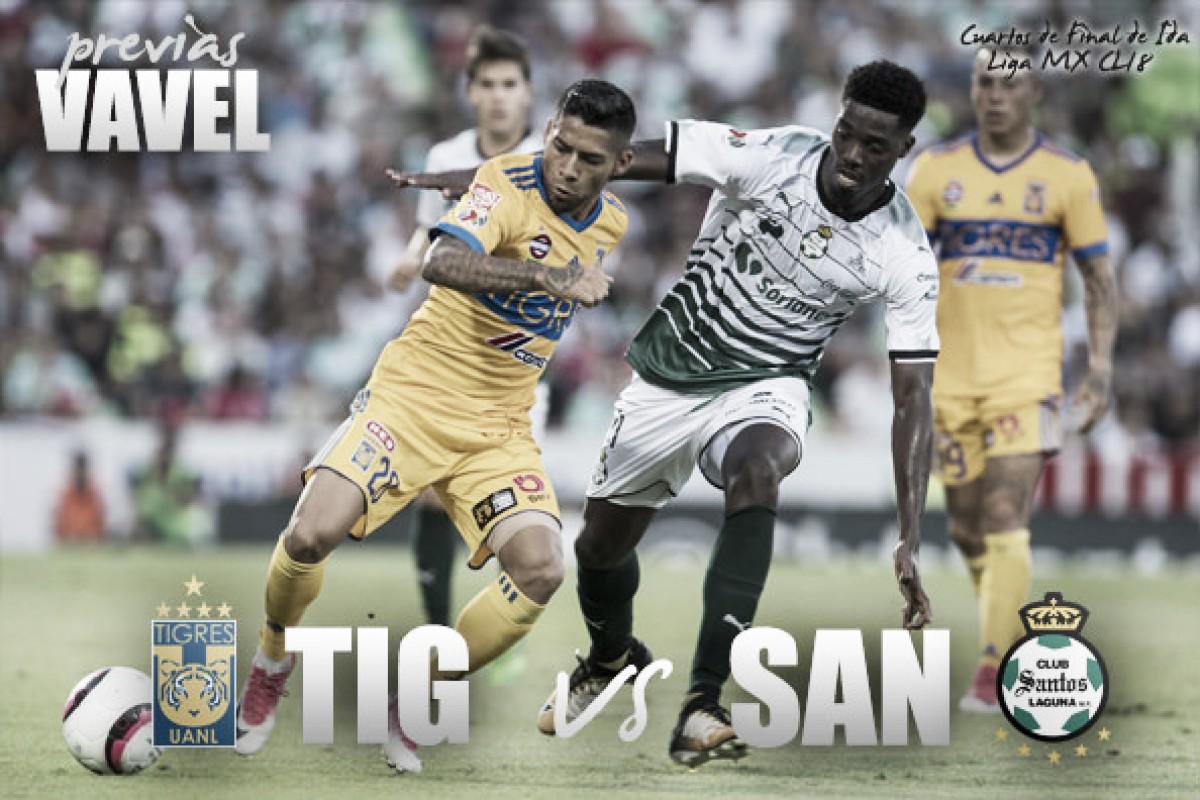 Previa Tigres - Santos: comienza el camino rumbo al título
