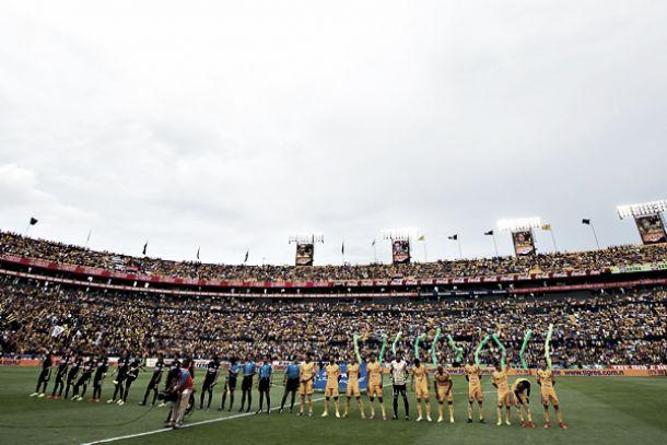 Tigres am rica a dar el primer paso por el t tulo for Puerta 9b estadio universitario