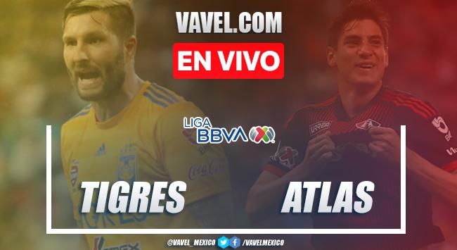Goles y resumen: Tigres 2-1 Atlas en Liga MX