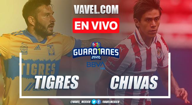 Goles y Resumen: Tigres 1-3 Chivas en Liga MX 2020