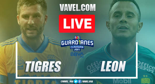 Goals and Highlights Tigres 2-0 León, Guard1anes 2020 Liga MX
