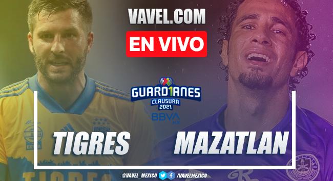 Resumen y goles: Tigres 1-2 Mazatlán en Jornada 11 de Liga MX Guard1anes 2021