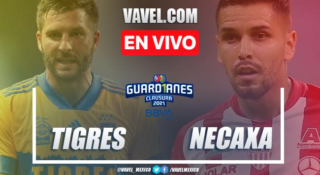 Goles y Resumen del Tigres 1-1 Necaxa en la jornada 4 del Guard1anes 2021