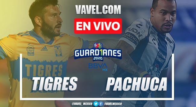 Tigres 1-1 Pachuca: goles y resumen Liga MX 2020