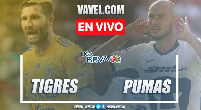 Resumen y goles: Tigres 3-0 Pumas en Liga MX 2020