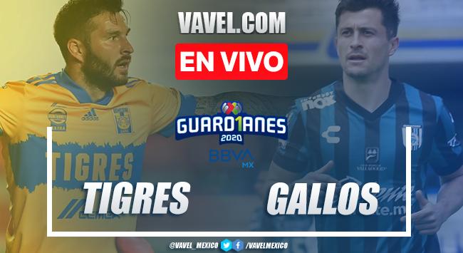Goles y resumen: Tigres 3-0 Querétaro en Liga MX Guard1anes 2020