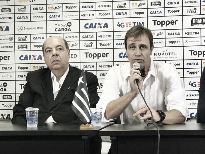 Orçamento baixo, uso da base e identificação: Felipe Conceição é apresentado no Botafogo
