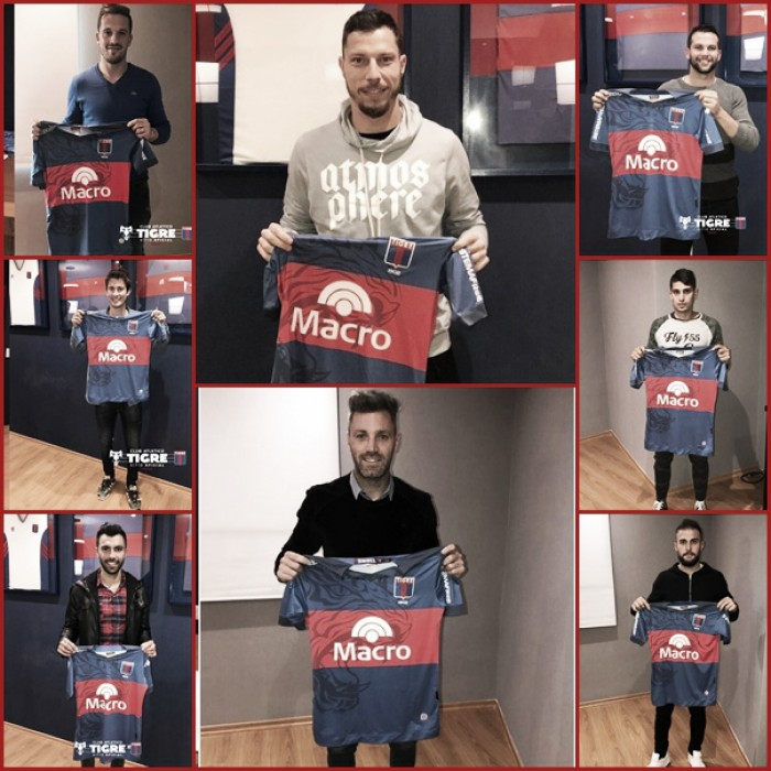 Las ocho caras nuevas de Tigre