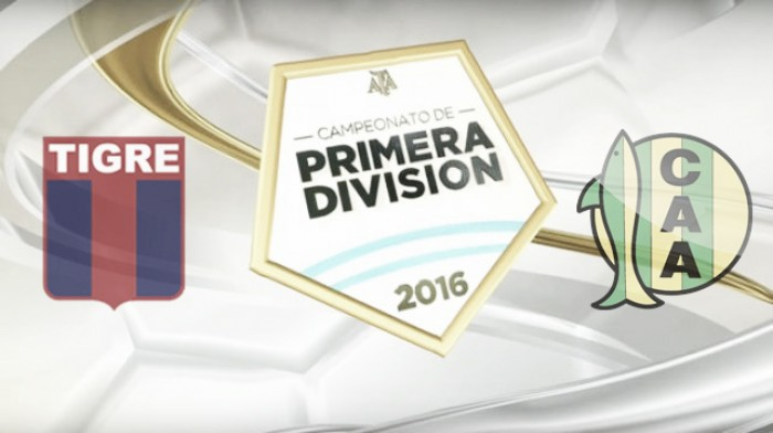 Objetivo cumplido: Tigre 2 - Aldosivi 0