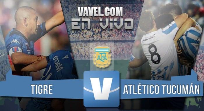 Resultado final: Tigre 5-0 Atlético Tucumán 2016 por el Torneo deTransición.