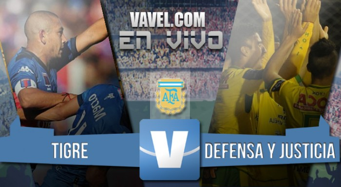 Tigre 0-2 Defensa y Justicia: el Halcón vuela más alto