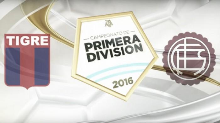 Resultado final:Tigre 0-1 Lanús por el Torneo de Transición 2016