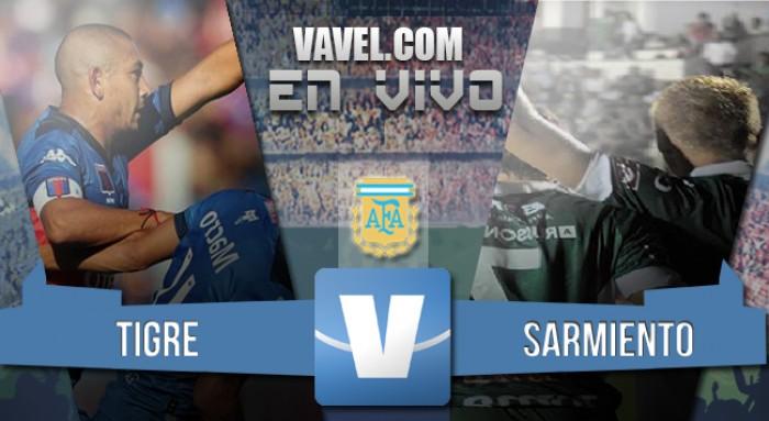 Resultado Tigre 2-0 Sarmiento en el Torneo de Transición 2016