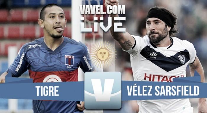 Vélez goleó a Tigre y mejoró su situación en los promedios