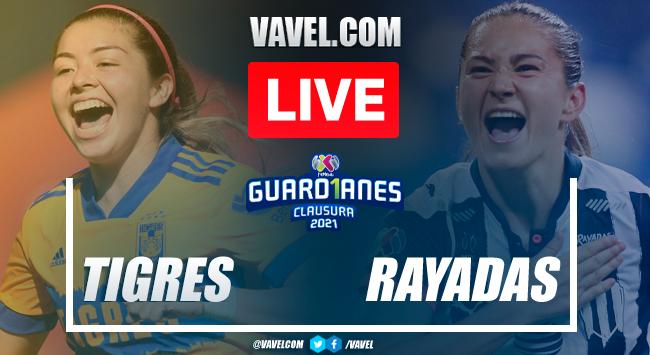 Goals and Highlights: Tigres Femenil 4-1 Rayadas de Monterrey in Liga MX Femenil 2021