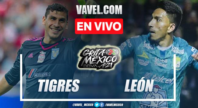 Goles y resumen del Tigres 2-2 León en Liga MX 2021