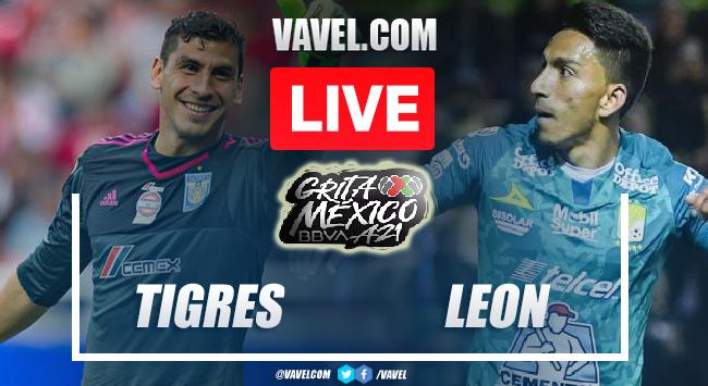 Goals and Highlights: Tigres 2-2 Leon in 2021 Liga MX