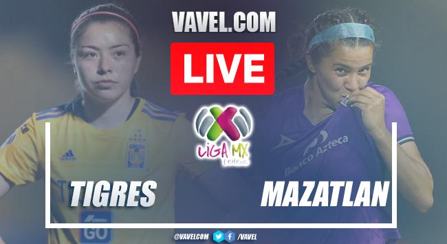 Goals and Highlights Tigres 2-0 Mazatlan in Liga MX Femenil