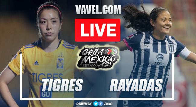 Goals and Highlights of Tigres Femenil 2-1 Rayadas on Liga MX Femenil Apertura 2021