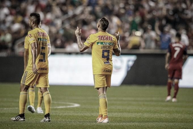 Edu Vargas le da la victoria a los Tigres en la Leagues Cup